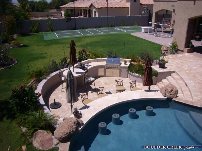 Outdoor Living Spaces | Boulder Creek Pools and Spas on Outdoor Living Pool And Spa id=58970